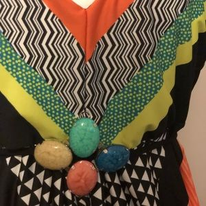 Summer dress! Colorful!